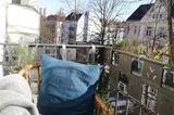Zuhause: Balkon-Aussicht