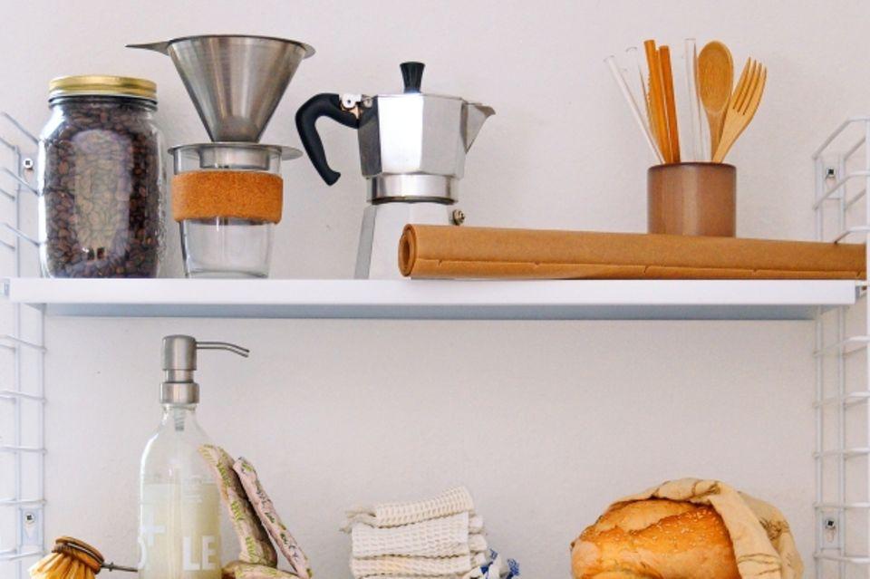 Nachhaltigkeit in der Küche: Küchenregal