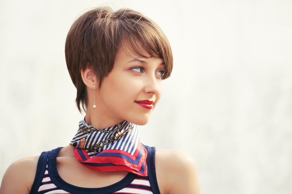 Klassische Haarschnitte: kurze Haare