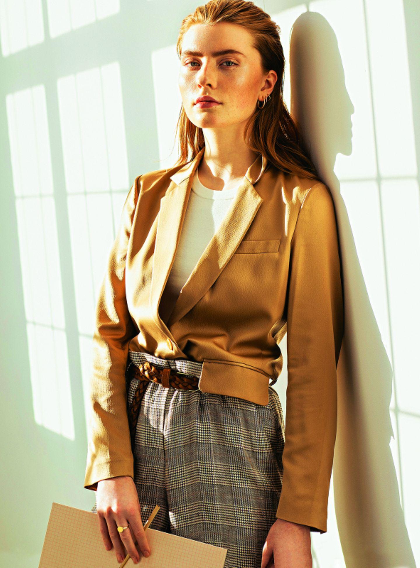 Business Outfit Coole Mode Furs Buro Brigitte De