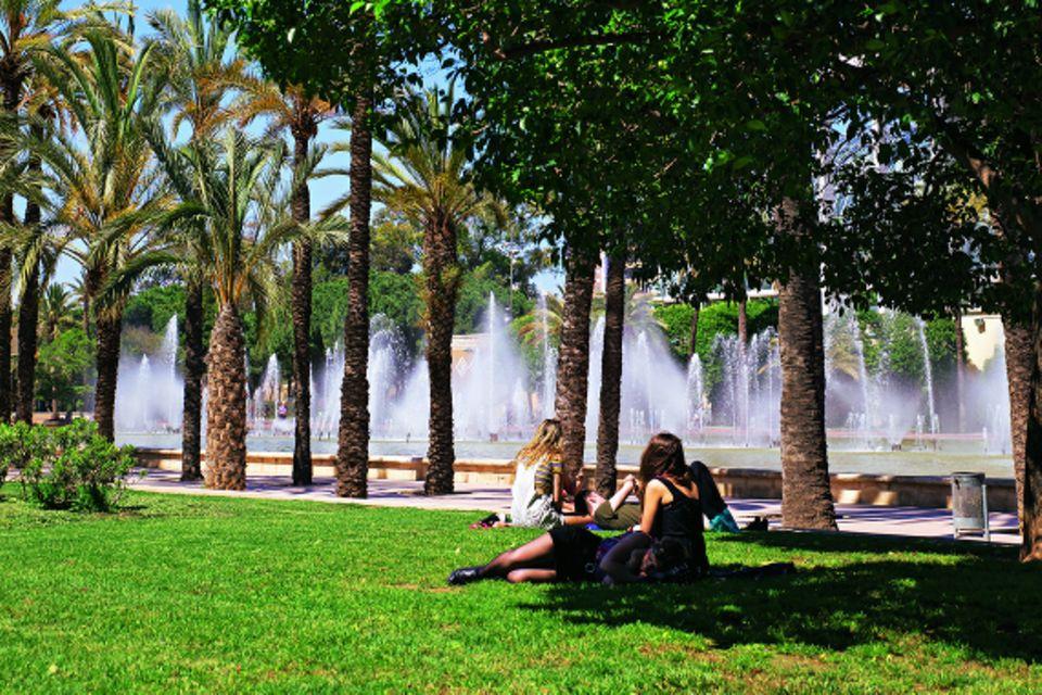 Valencia - Sehenswürdigkeiten und Tipps: Stadtpark