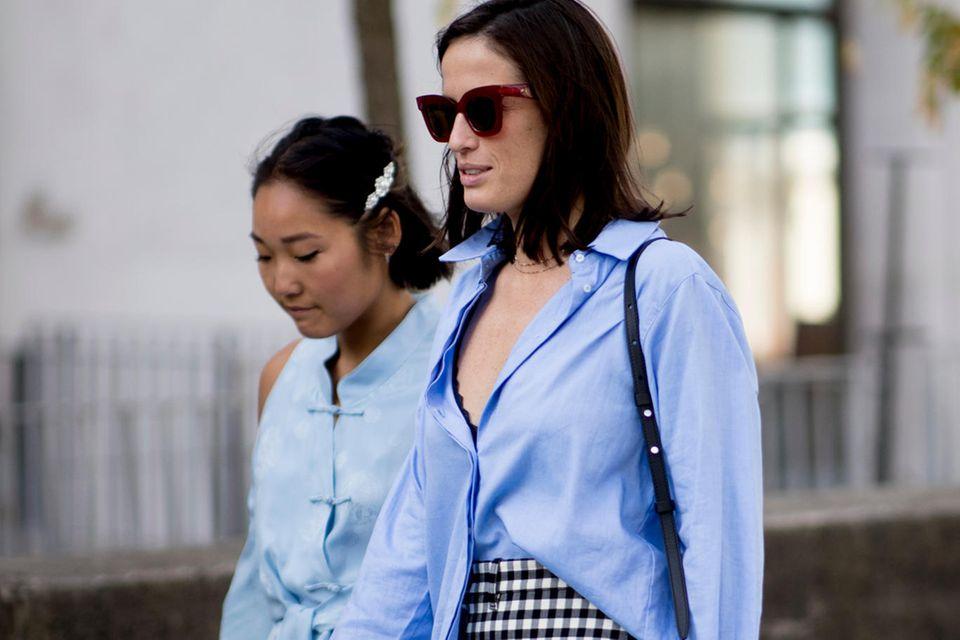 Oversize-Bluse: So stylisch tragen wir das It-Piece 2021