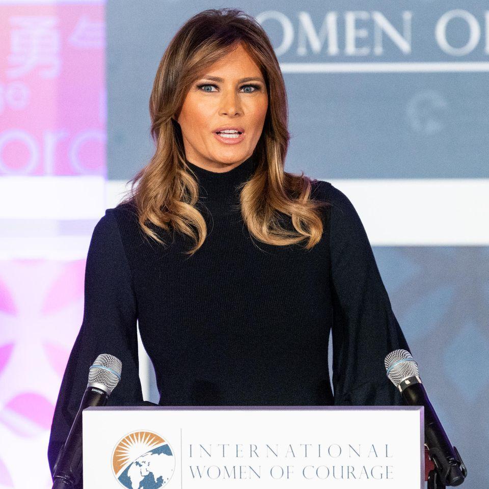 Melania Trump: Hier stellt sie Trump in den Schatten