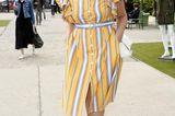 Curvy Stars: Angelina Kirsch im Streifenkleid