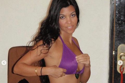 Kourtney Kardashian: Kim postet Throwback-Fotos