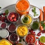 Obst einkochen: Eingekochtes Obst