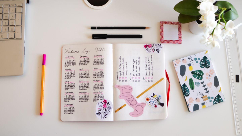 Bullet Journal Ideen Tipps und Inspiration   BRIGITTE.de