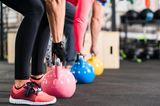 Was ich nach der Krise mache: Menschen im Fitnesstudio