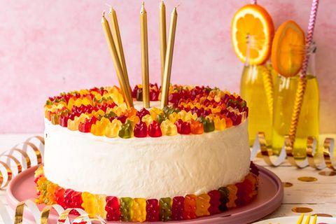 Gummibärchen-Torte