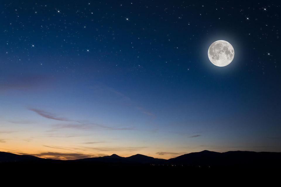 Nachts ist es kälter als draußen: Vollmondnacht