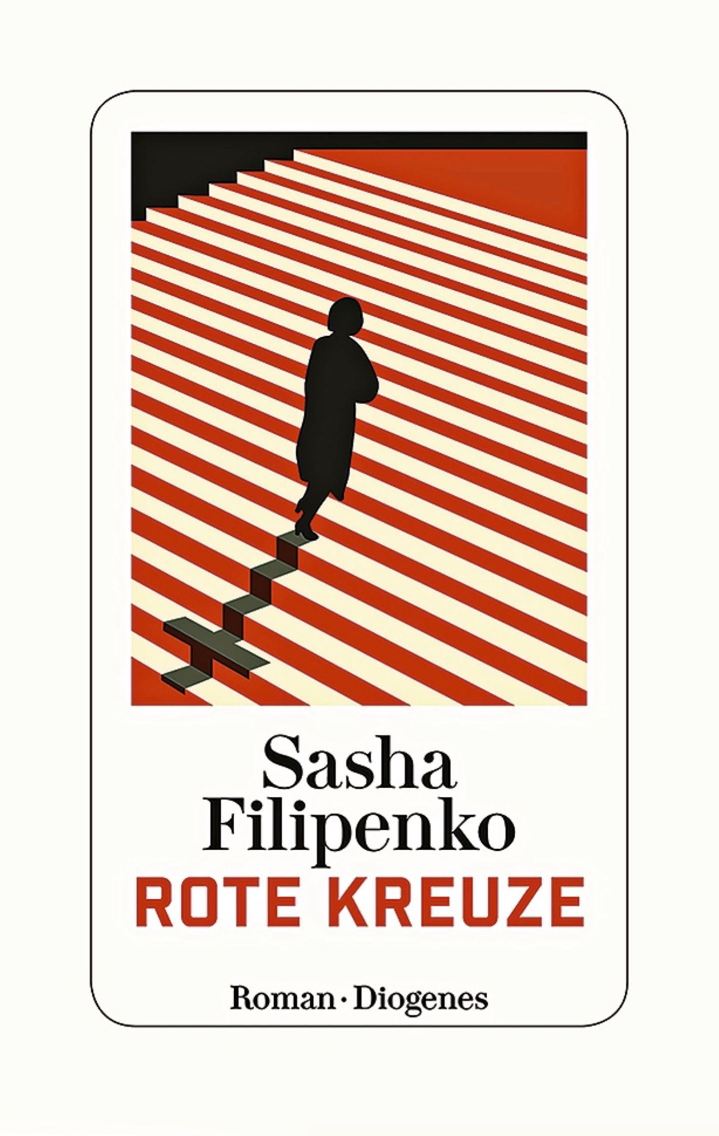 """Buchtipps der Redaktion: Buchcover """"Rote Kreuze"""""""
