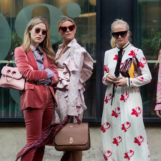 Sonnenbrillen-Trends 2020: Frauen mit Sonnenbrillen