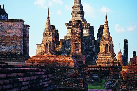 Sukhothai: Tempel