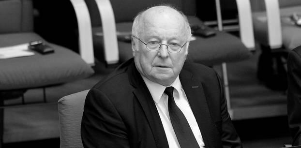 Norbert Blüm: Trauer um Politiker