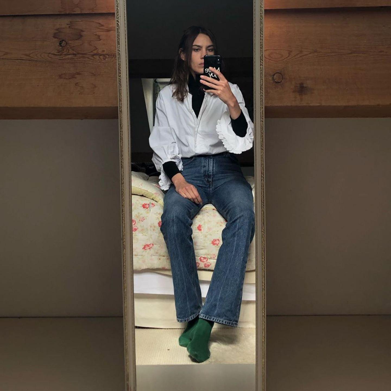 Stars im Home Office: Alexa Chung
