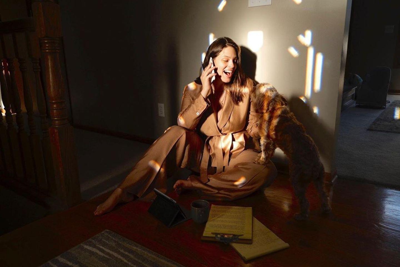 Stars im Home Office: Ashley Graham