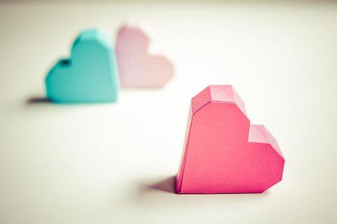 Beziehungsmodelle: Drei Herze