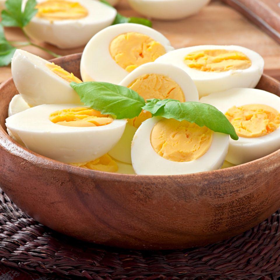 Ei-Allergie: Gekochte Eier