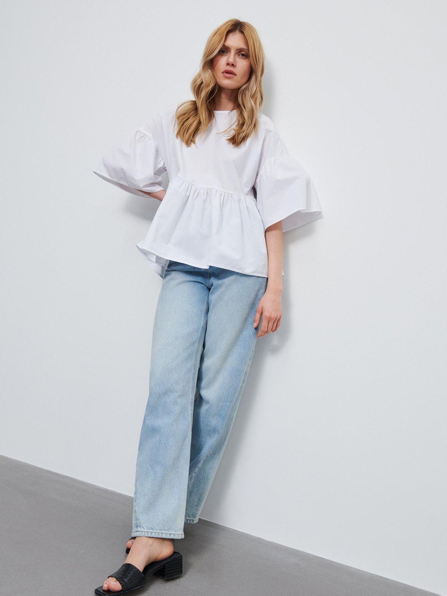 Frühlings-Bluse: Oversize
