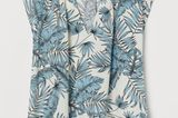 Frühlings-Bluse: Pfalnzen-Muster