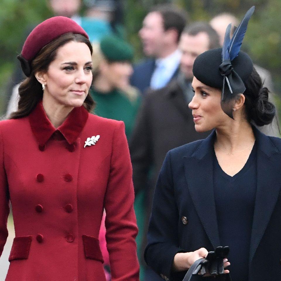 Herzogin Meghan schießt wegen Kate gegen den Palast