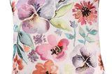 Muttertags-Geschenk: Kissen mit Blumenmotiv