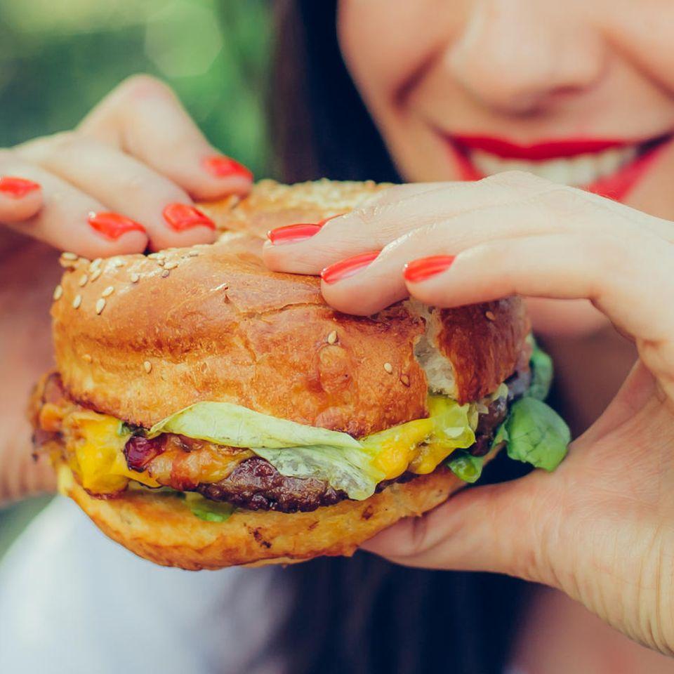 Intuitives Essen: Burger