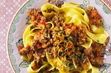 Pappardelle mit Ossobuco-Ragout