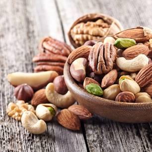 Nussallergie: Verschiedene Nusssorten