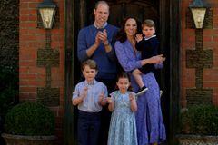 Royale Mütter: Herzogin Kate mit ihren drei Kindern