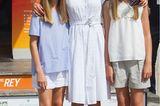 Royale Mütter: Königin Letizia mit ihren Töchtern Leonor und Sofia
