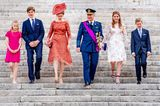 Royale Mütter: Königin Mathilde und Familie