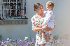 Royale Mütter: Prinzessin Victoria mit Sohn Oscar
