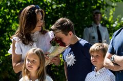 Royale Mütter: Prinzessin Mary mit ihren Kindern