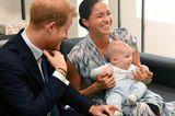 Royale Mütter: Meghan Markle mit Archie