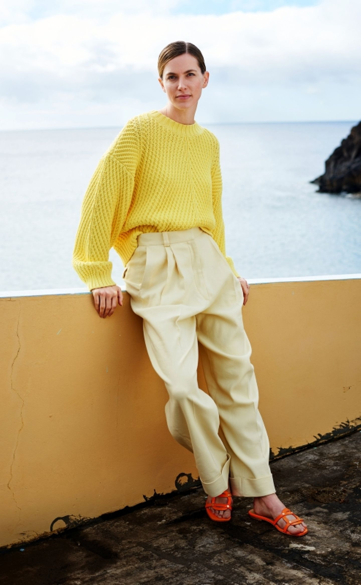 Pastelltöne: Gelbes Outfit