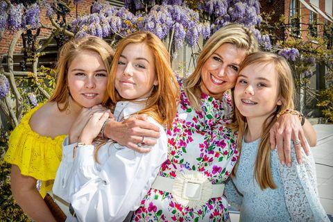 Royale Mütter: Königin Maxima mit Töchtern