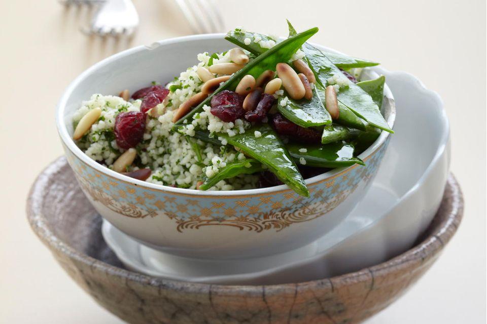 Couscous-Salat mit Cranberries