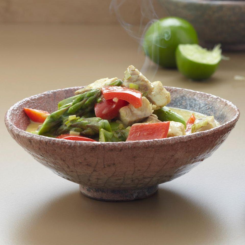 Fisch-Kokos-Curry