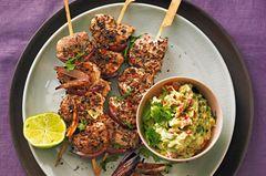 Schnelle Fleischgerichte: Schweinefilet-Spieße