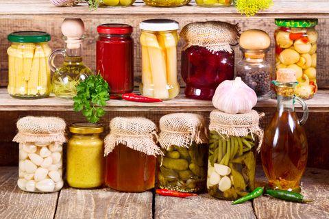 Notvorrat anlegen: Eingekochte Lebensmittel