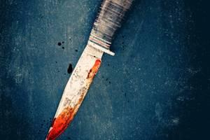 Thriller-Bücher: blutiges Messer
