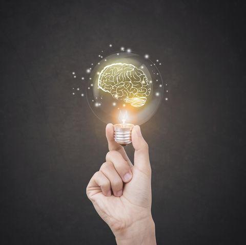 Gedächtnistraining: Glühbirne