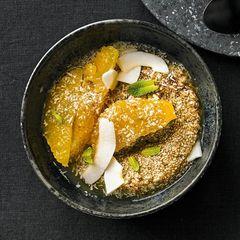 Leinsamen-Kokos-Joghurt