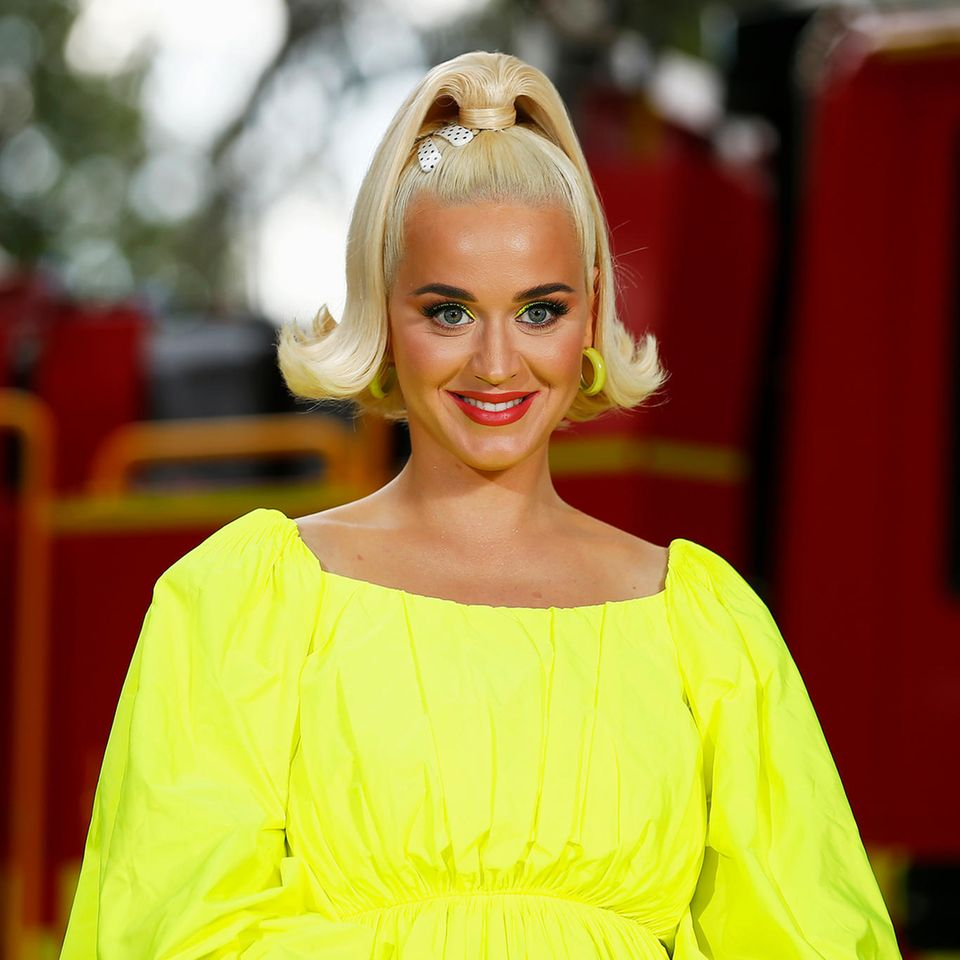 Katy Perry: Hier präsentiert sie ihre Babykugel