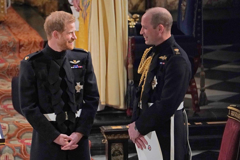 Prinz Harry + Prinz William: Die Brüder nähern sich wieder an