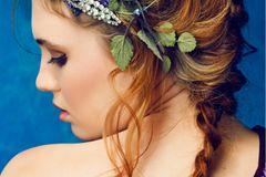 Flechtfrisuren lange Haare: Französischer Zopf
