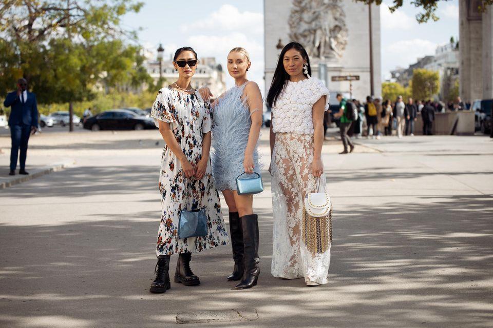 Modefehler: Influencerinnen auf der Milan Fashion Week