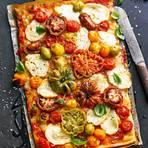 Garten-Pizza