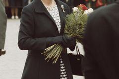 Queen Elizabeth II.: im Schwarz-Weiß-Look